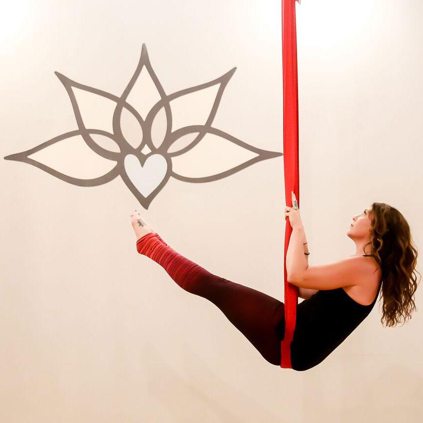 Unnata® Aerial Yoga:  Will return when we re-open!