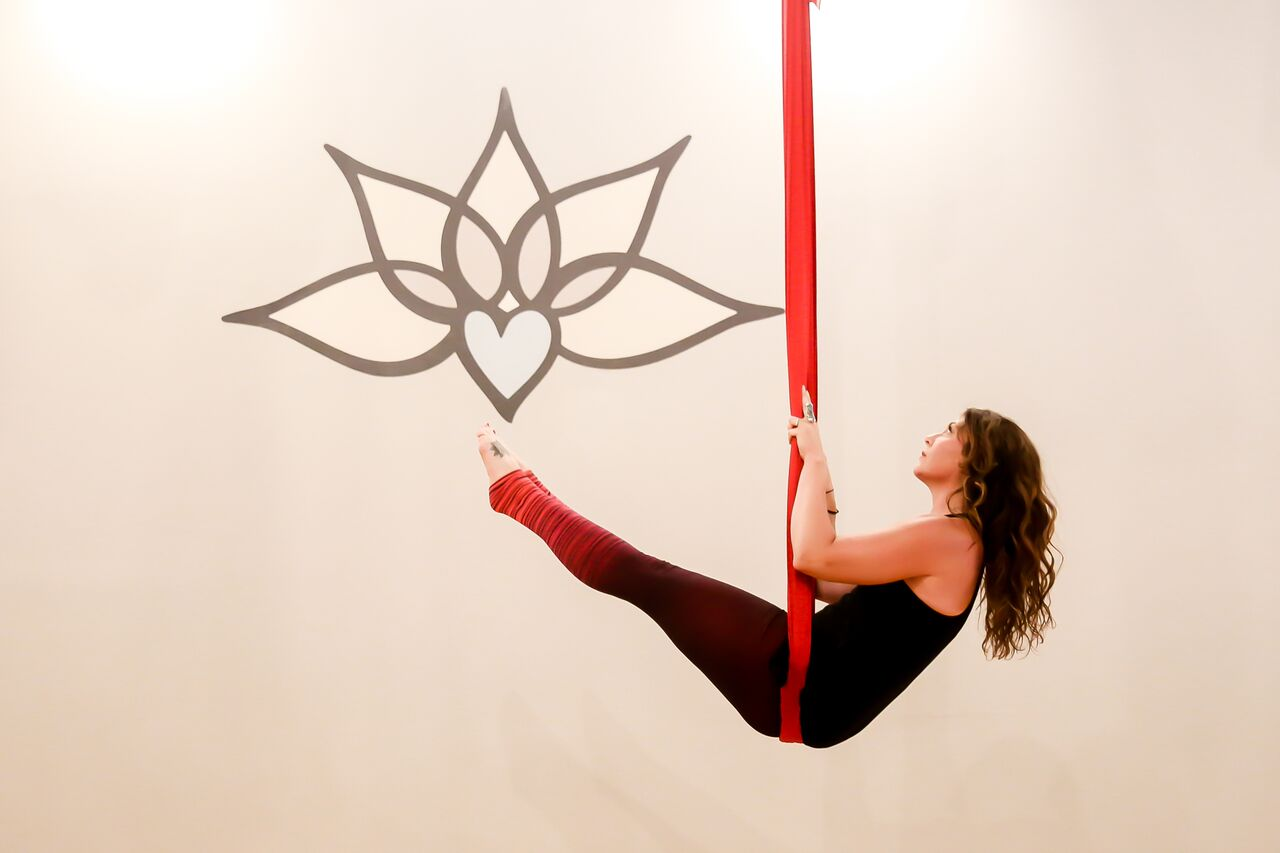 Unnata® Aerial Yoga: Will resume when it's safe!